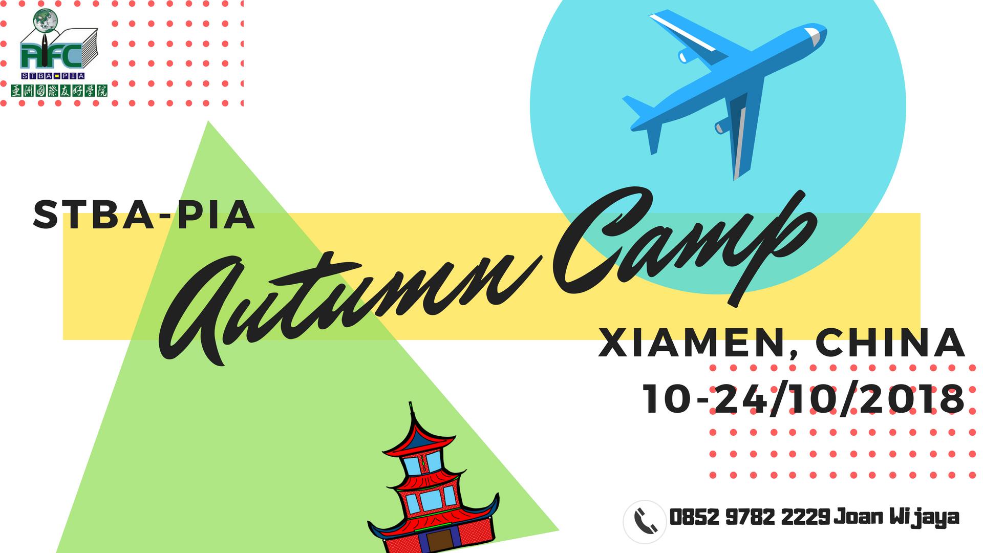 Autumn-Camp-2018